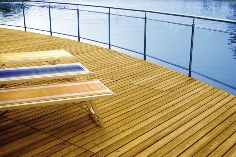Terrasse bois extérieure