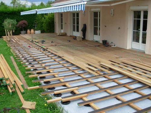 Faire sa terrasse en bois