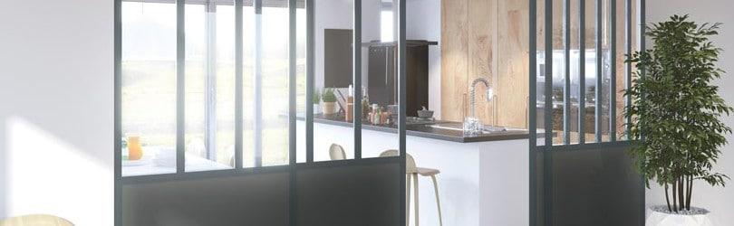 L'utilisation de la verrière d'intérieur dans l'habitat contemporain